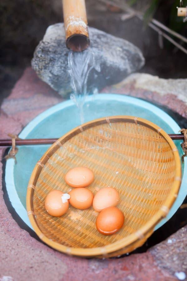 Huevos hervidos suavidad fotografía de archivo