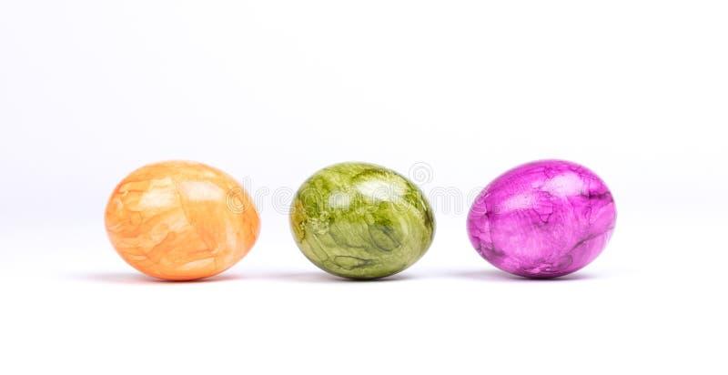 Huevos pintados, pascua fotos de archivo libres de regalías