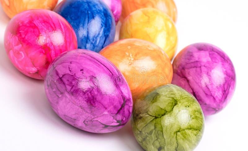 Huevos pintados, pascua foto de archivo libre de regalías