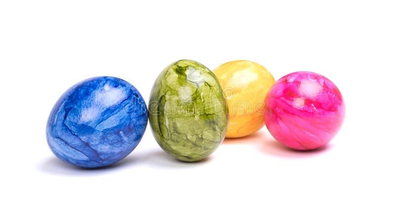 Huevos pintados, pascua imagen de archivo libre de regalías