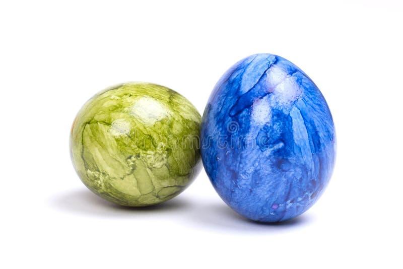 Huevos pintados, pascua fotografía de archivo libre de regalías
