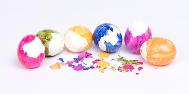 Huevos pintados, pascua fotografía de archivo