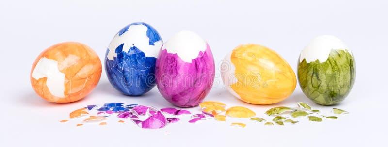 Huevos pintados, pascua imágenes de archivo libres de regalías