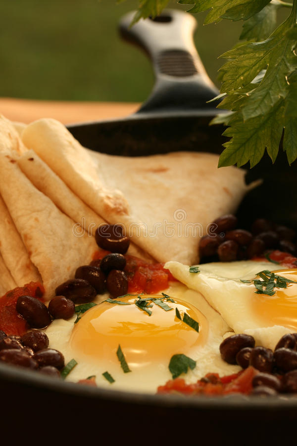 Huevos Rancheros immagini stock