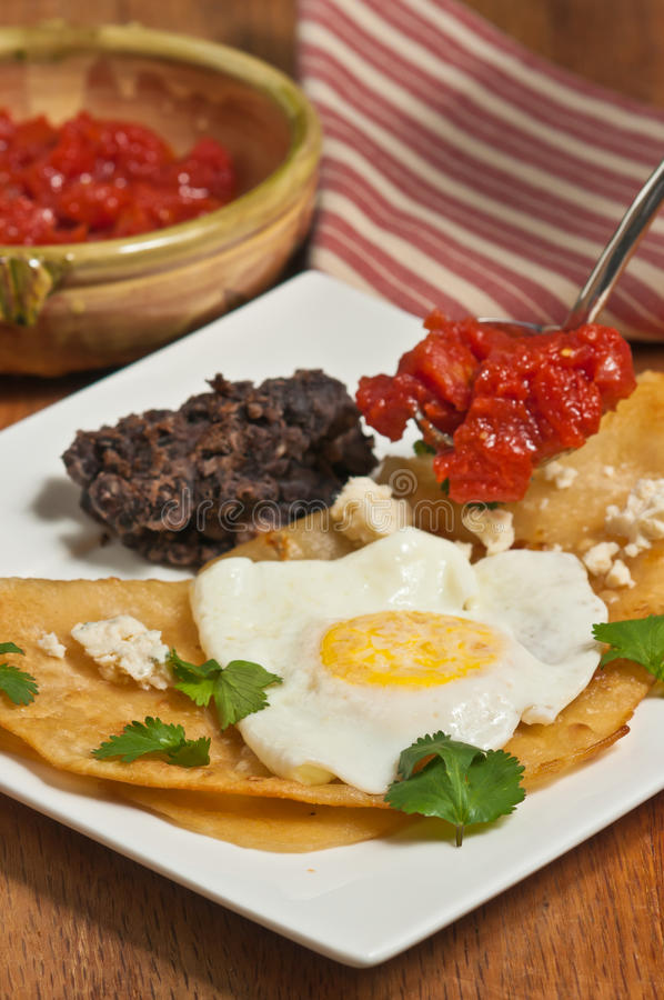 Huevos rancheros stock photos