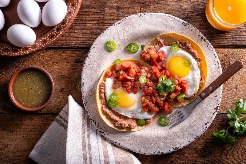 Huevos Rancheros foto de stock