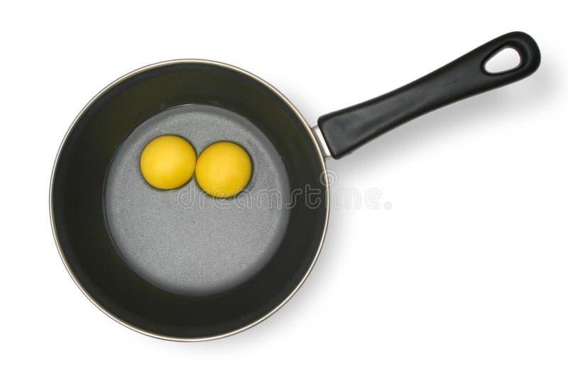Huevos sin procesar imagen de archivo libre de regalías