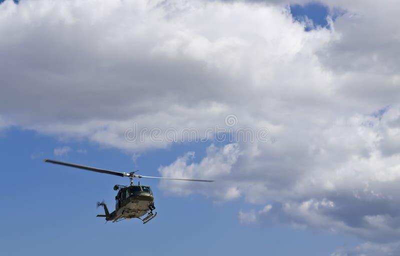 huey救伤直升机n uh1 免版税库存图片