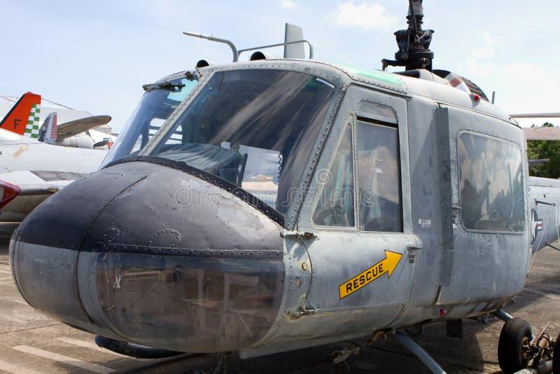 Huey Iroquois Helicopter fotografia stock