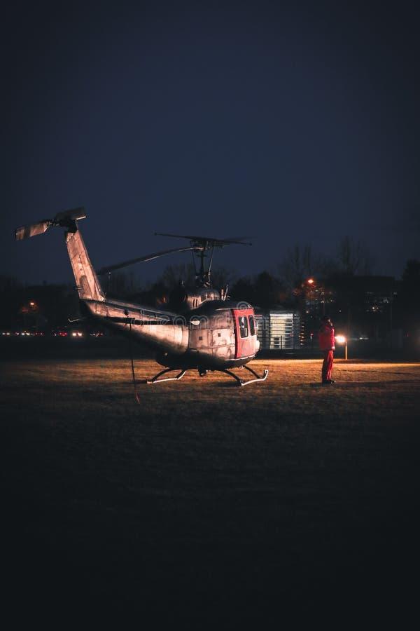 Hueyhelikopter royalty-vrije stock afbeeldingen