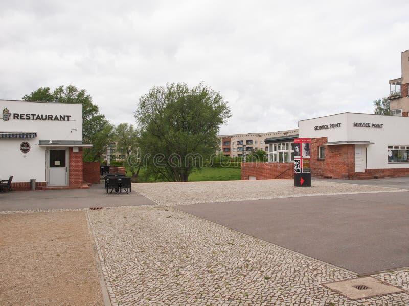 Hufeisen Siedlung в Берлине стоковое фото