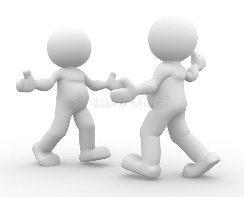 Download Hug stock illustration. Image of hello, meeting, character - 26343805