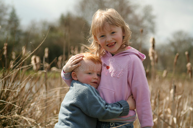 The Hug Royalty Free Stock Images