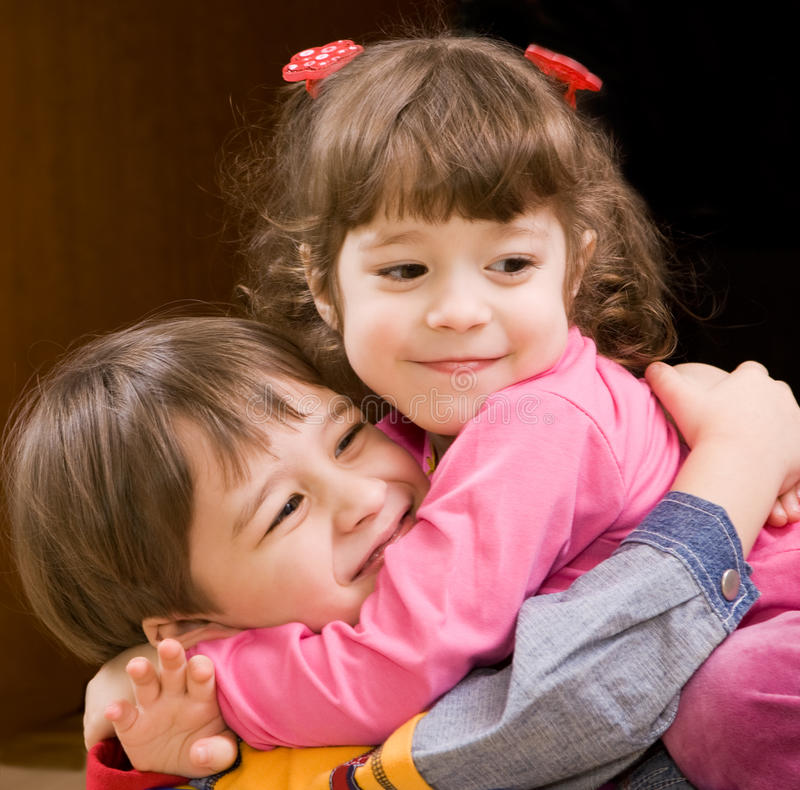 Download Hug stock image. Image of smiling, romance, playing, children - 9404349