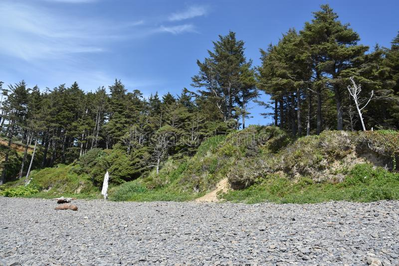 Hug Point Beach fotografie stock libere da diritti