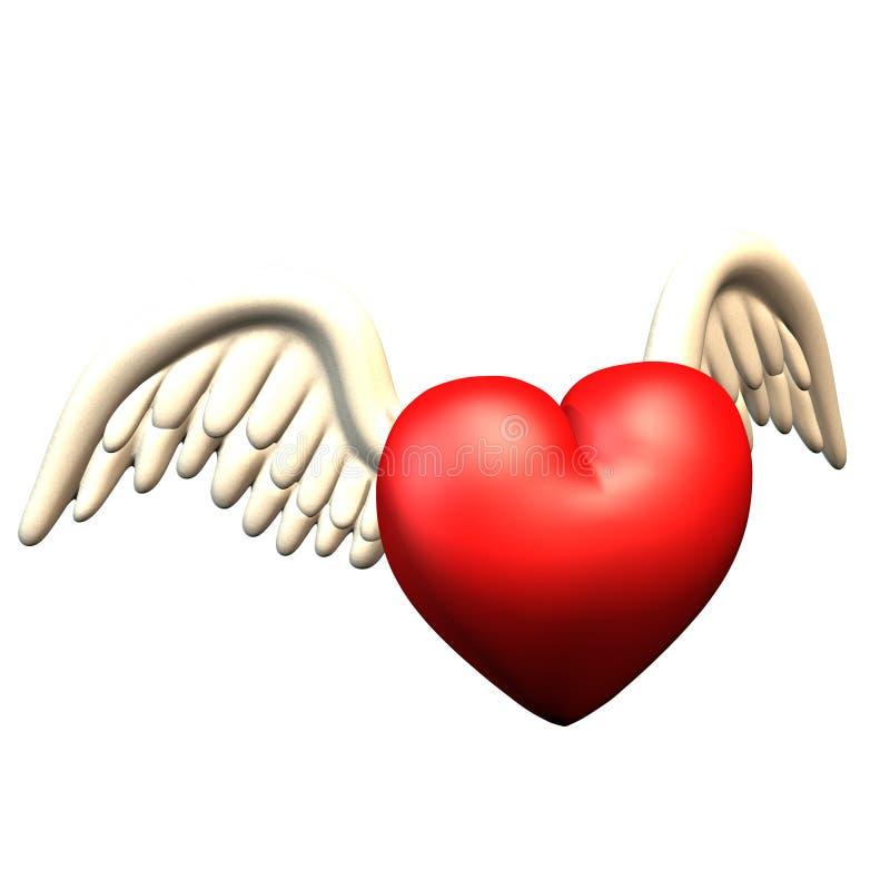 Download Hug with wings stock illustration. Illustration of cartoon - 2312375