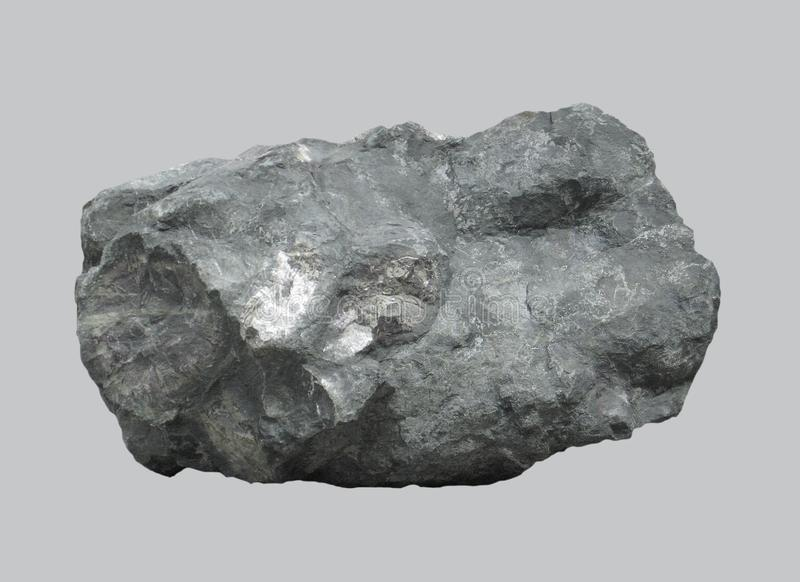 Huge basalt cobblestone. stock photography