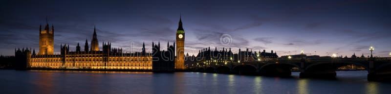 HUGE-Big Ben and Westminster stock photo