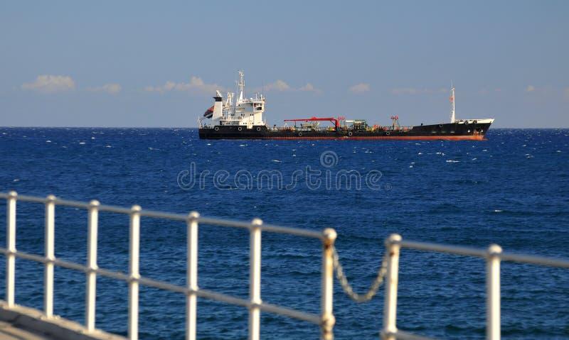 Download Huge cargo ship stock image. Image of mast, harbor, cargo - 12492067