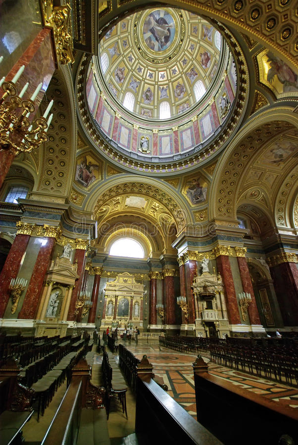 Huge Cathedral Royalty Free Stock Photo