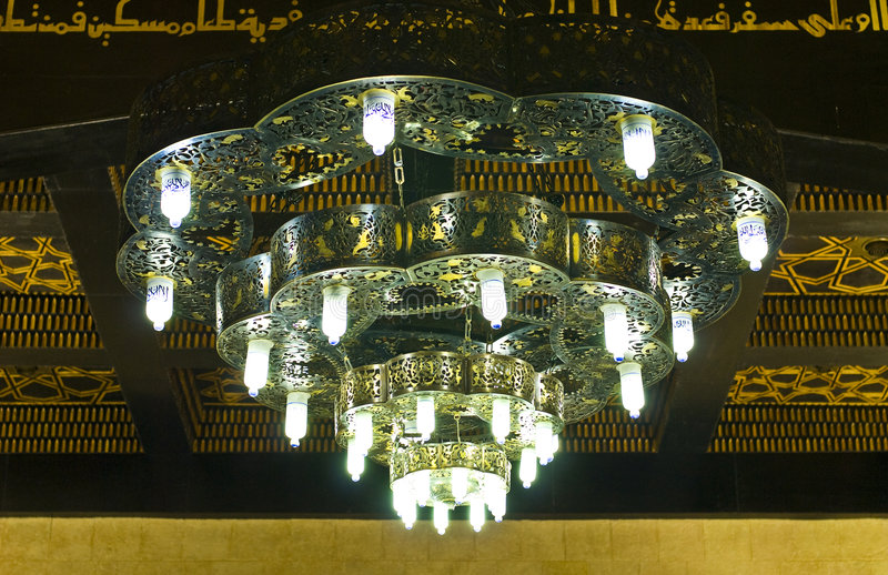 Huge Chandelier royalty free stock photos