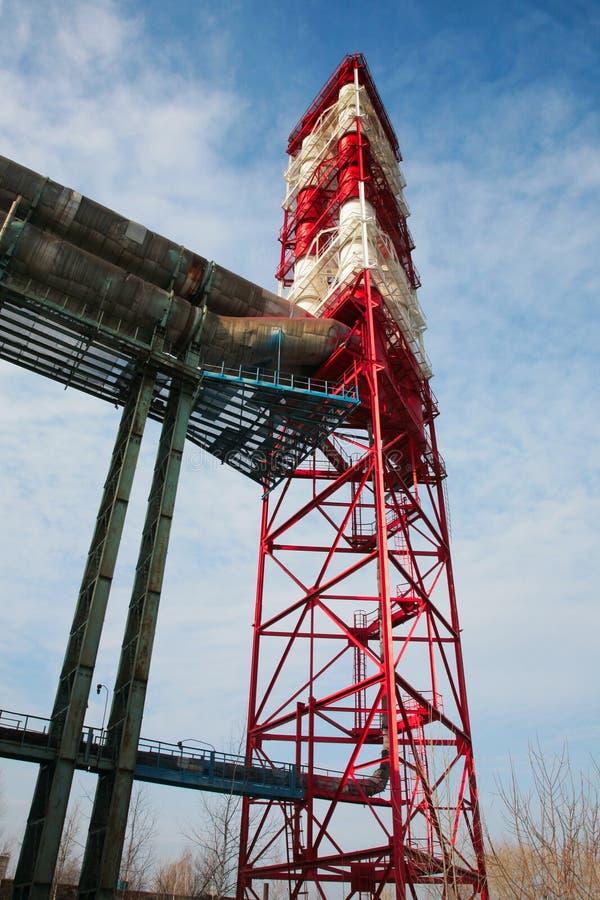 Download Huge chimney-stalk stock photo. Image of ecology, technology - 7118628
