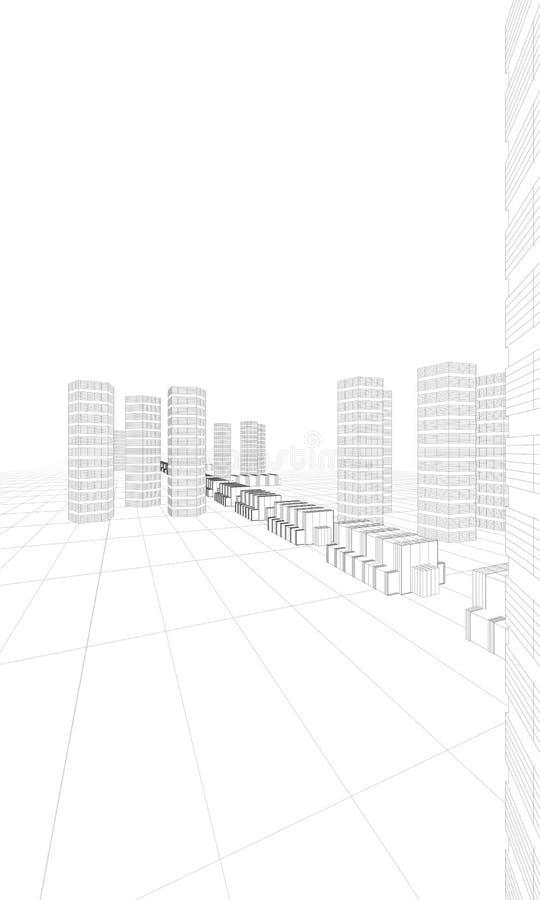 Download Huge City Buildings Stock Image - Image: 20644051