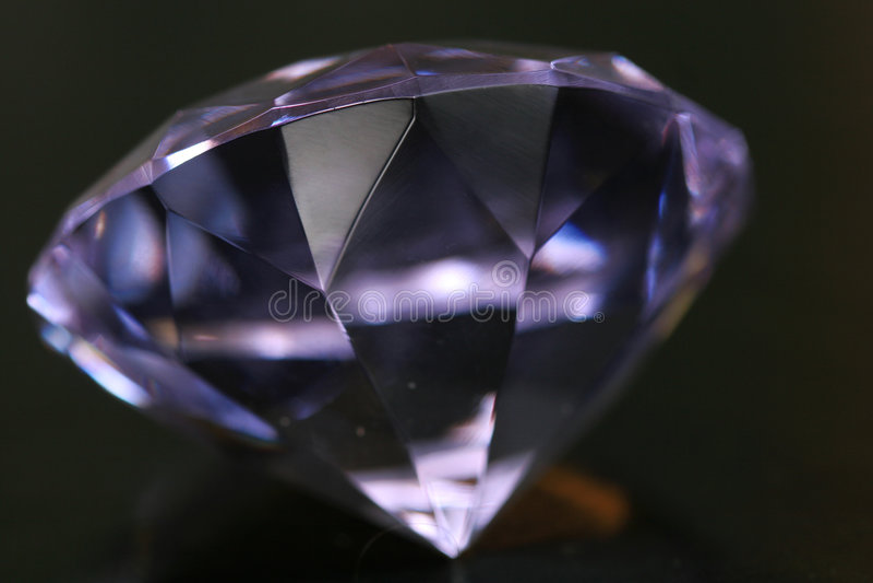 Huge diamond royalty free stock image