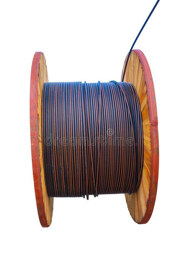 Download Huge Electric Cable Roll Stock Photo Image Of Industry