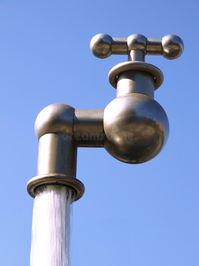 Huge Faucet Stock Image