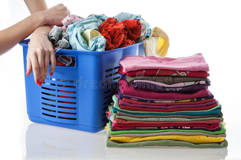 Huge Laundry Royalty Free Stock Image