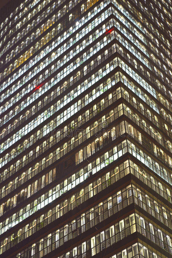 Download Huge office building stock photo. Image of yellow, light - 22581036