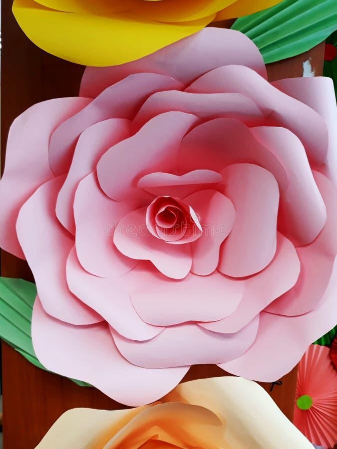 Huge paper flowers of multi colored paper stock image image of download huge paper flowers of multi colored paper stock image image of interior mightylinksfo