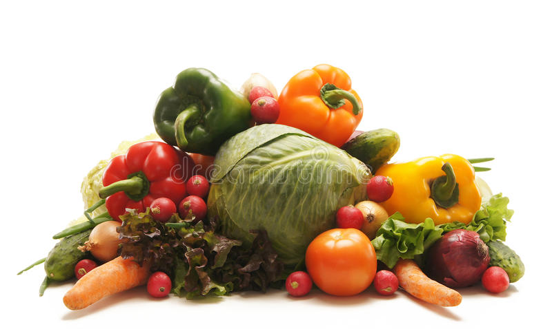 Download A Huge Pile Of Fresh And Tasty Green Vegetables Stock Photo - Image: 24914838
