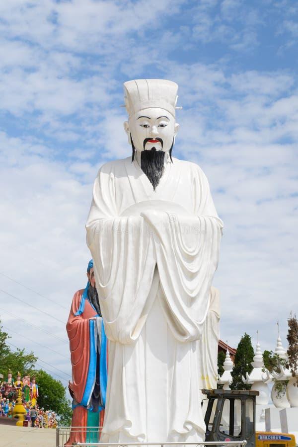 Download Huge sculpture stock photo. Image of sculpture, confucius - 24936678