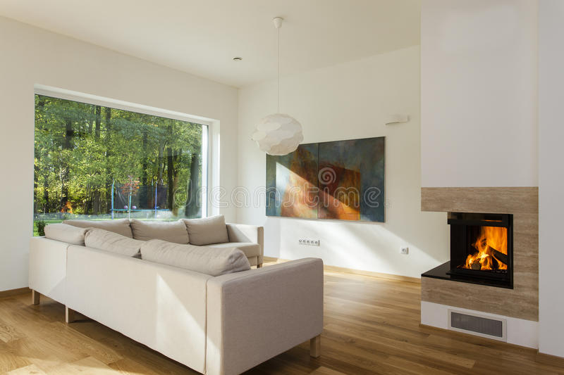 Download Huge sofa stock photo. Image of glass, contemporary, home - 27532368