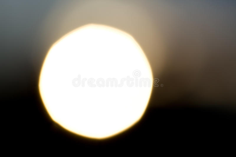 Download A Huge Sun Against The Black Sky Stock Photo - Image: 25648400