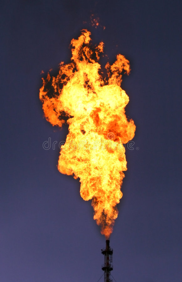 Huge torch royalty free stock images