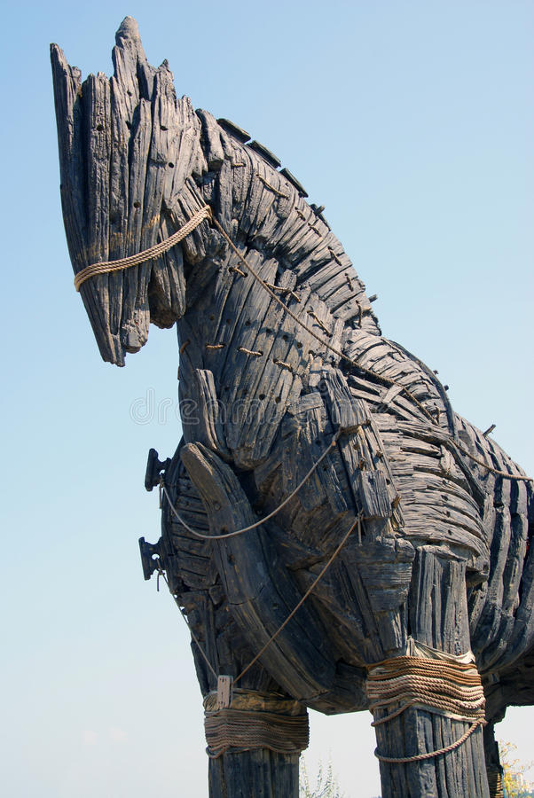 Free Huge Trojan Horse Detail Stock Photography - 15442282
