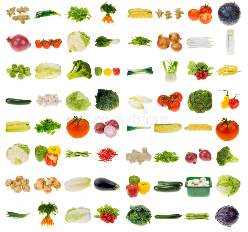 Free Huge Vegetable Collection Stock Photo - 4571070