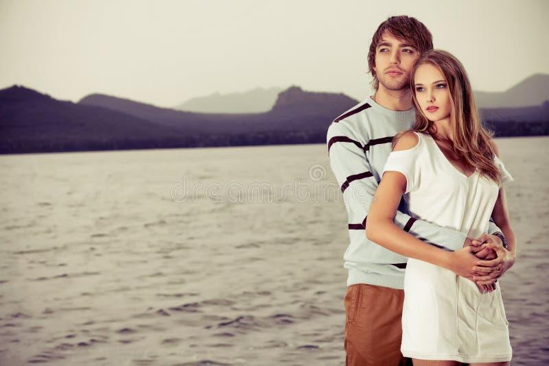 Hugging stock photography