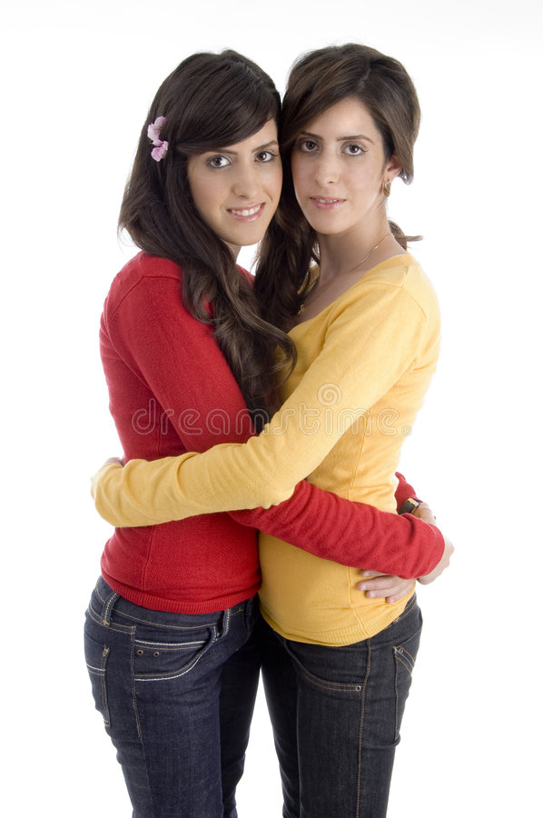 Download Hugging young friends stock photo. Image of friends, gorgeous - 7026084