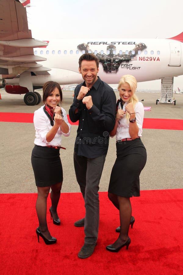 Download Hugh Jackman oskulderna redaktionell bild. Bild av nivå - 37345996
