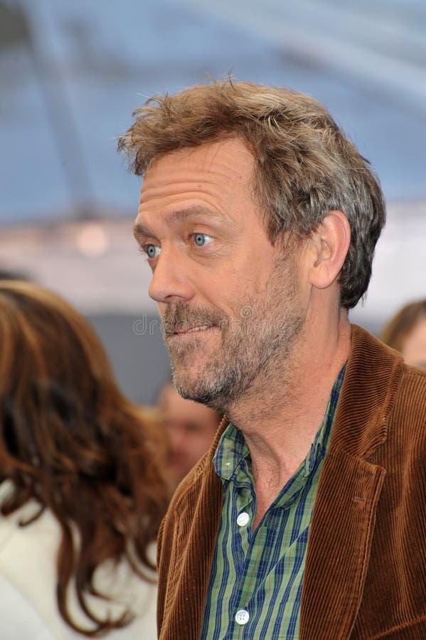 Hugh Laurie foto de stock