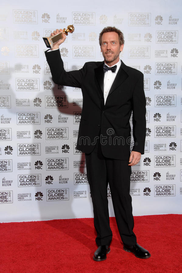 Hugh Laurie fotos de stock royalty free