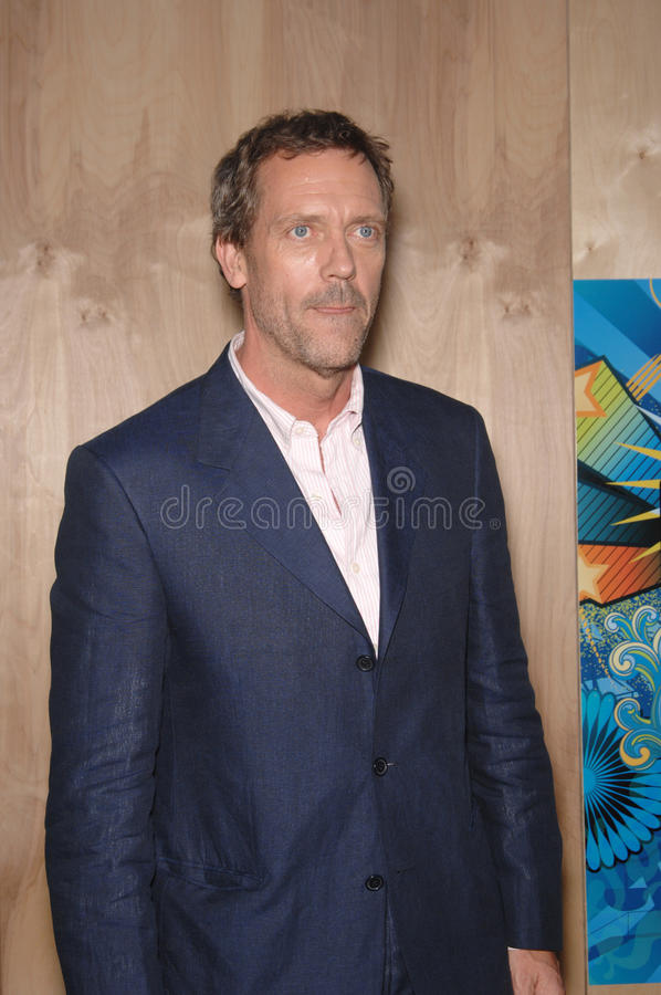 Download Hugh Laurie editorial stock photo. Image of star, monica - 24571288