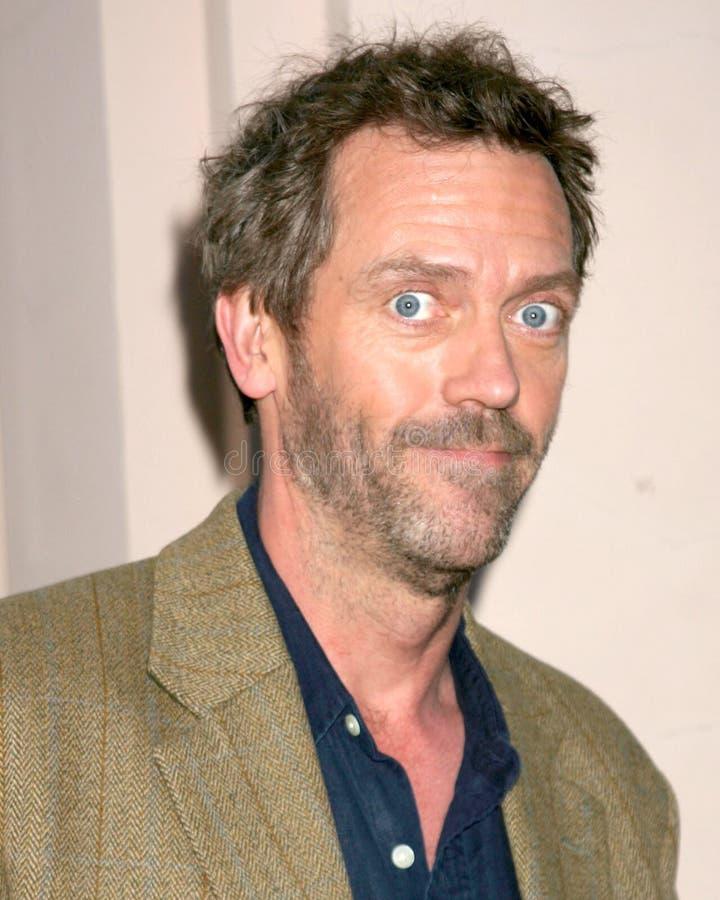 Hugh Laurie imagem de stock