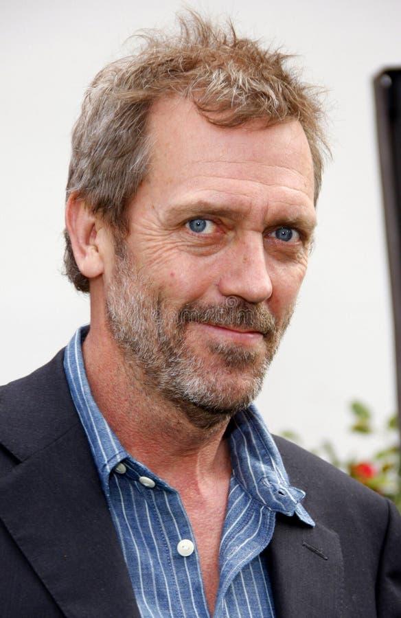 Hugh Laurie fotografia de stock