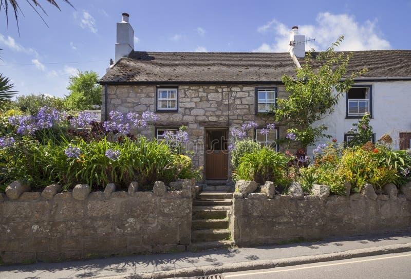 Hugh Town, St Mary & x27; s, ilhas de Scilly, Inglaterra fotografia de stock