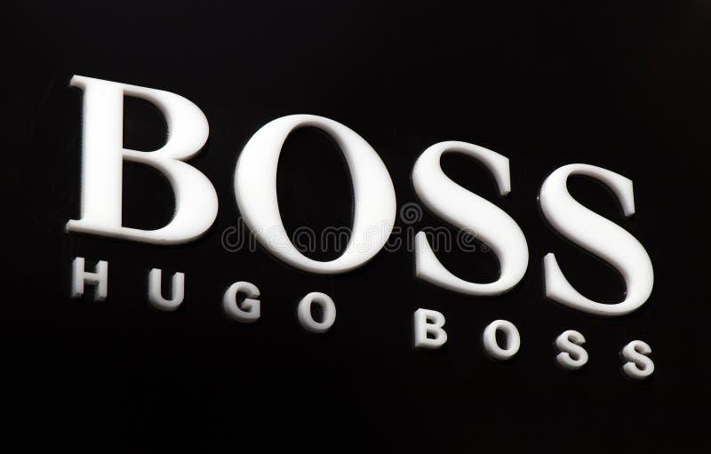 Hugo boss stock image